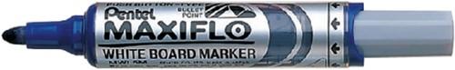 Viltstift Pentel MWL5M Maxiflo whiteboard blauw 3mm