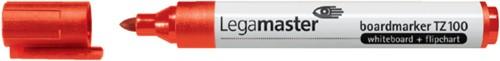 Viltstift Legamaster TZ100 whiteboard rond rood 1.5-3mm