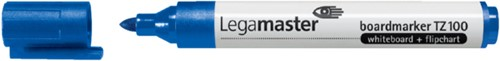 Viltstift Legamaster TZ100 whiteboard rond blauw 1.5-3mm