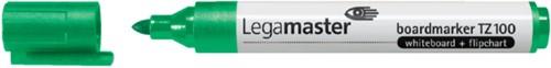 Viltstift Legamaster TZ100 whiteboard rond groen 1.5-3mm