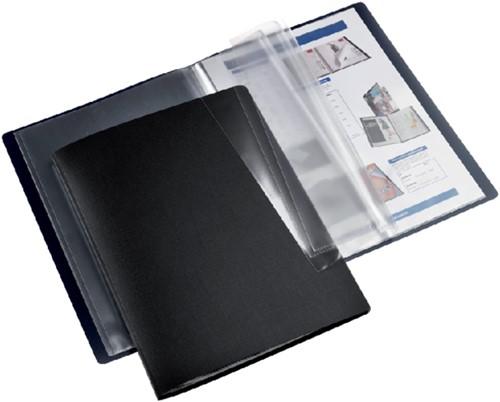 Showmap HF2 flexibel A4 20-tassen zwart