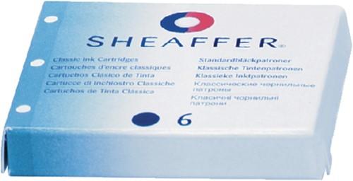 Inktpatroon Sheaffer Classic zwart