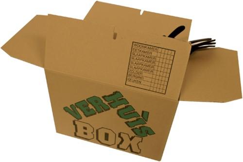 Verhuisdoos CleverPack bedrukt 480x320x360mm 5stuks