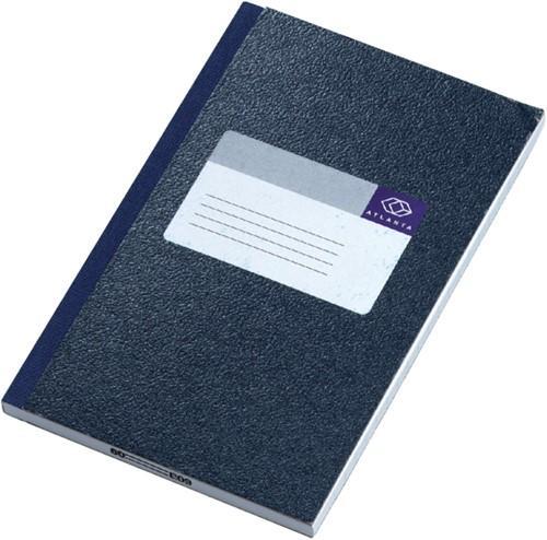 Notitieboek Atlanta 192blz gelineerd blauw