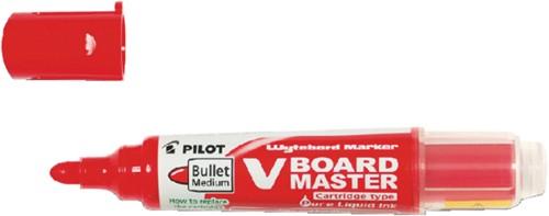 Viltstift PILOT Begreen whiteboard rond rood 2.3mm
