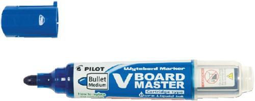 Viltstift PILOT Begreen whiteboard rond blauw 2.3mm