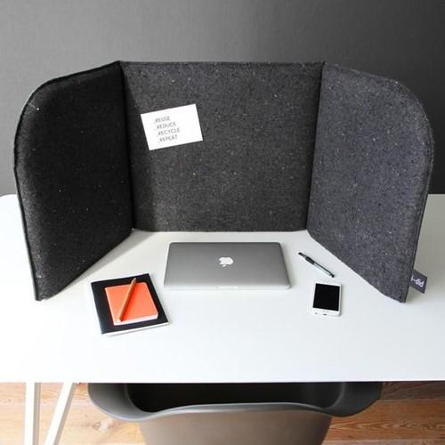Desk Divider - grijs
