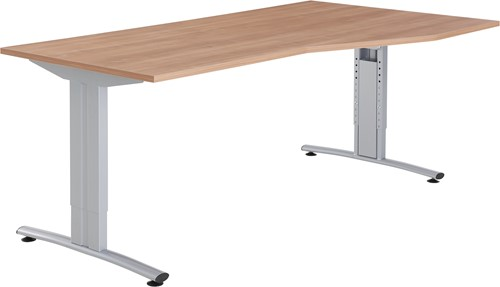 BASIC BUREAU ALFA 180X80/100 LINKS OF RECHTS