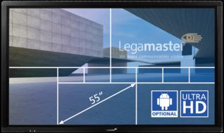 e-Screen ETX touch monitor ETX-5510UHD zwart