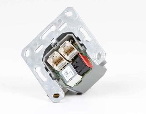 OptoXS™ dual RJ45 Gigabit Ethernet inbouwunit